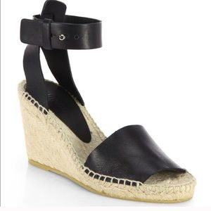 Vince Leather Sophie Espadrilles